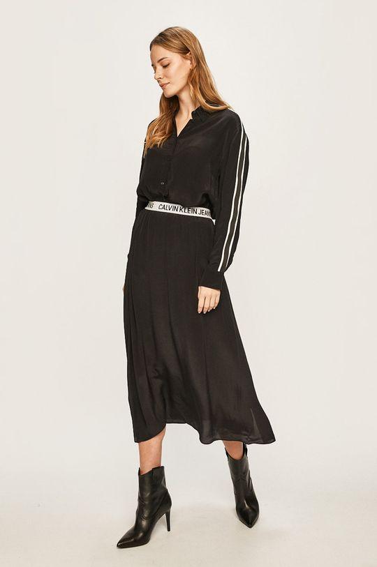 Calvin Klein Jeans - Košeľa čierna