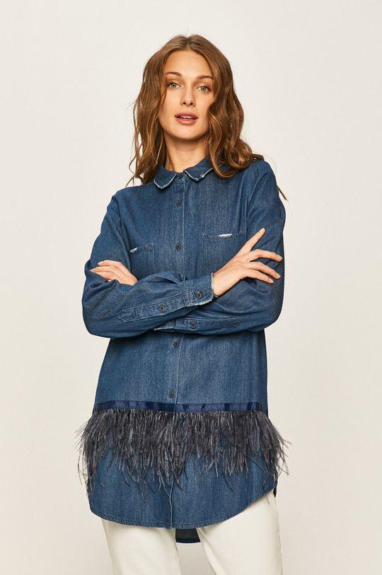 modrá Twinset - Rifľová košeľa Dámsky