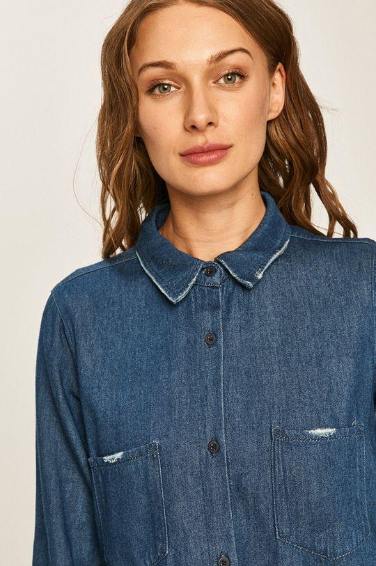 modrá Twinset - Rifľová košeľa