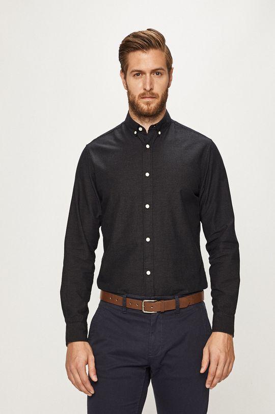 čierna Produkt by Jack & Jones - Košeľa Pánsky