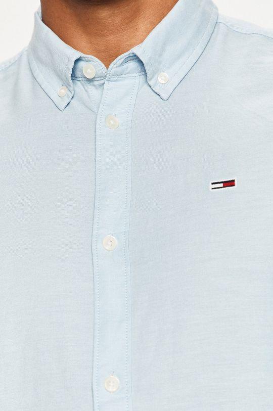 Tommy Jeans - Camasa albastru pal