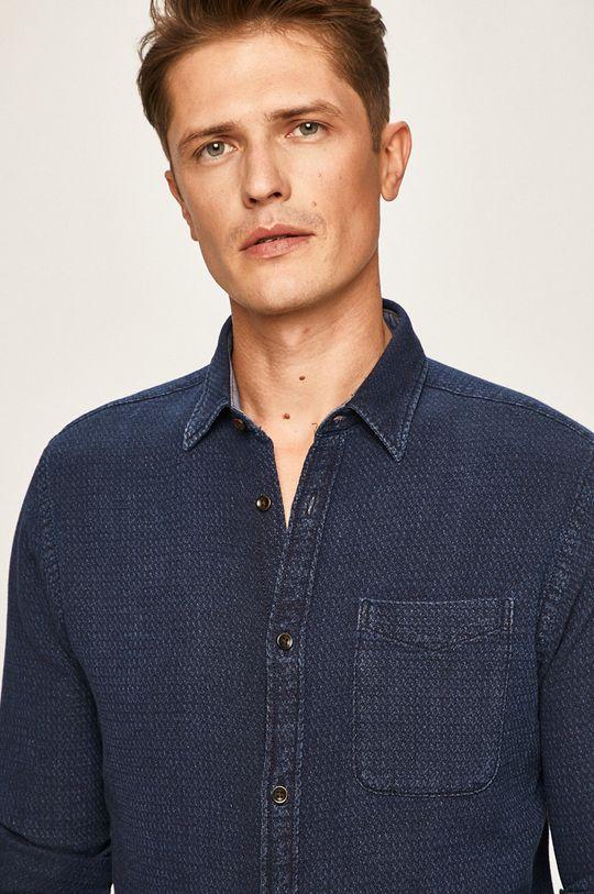 modrá Premium by Jack&Jones - Košile Pánský