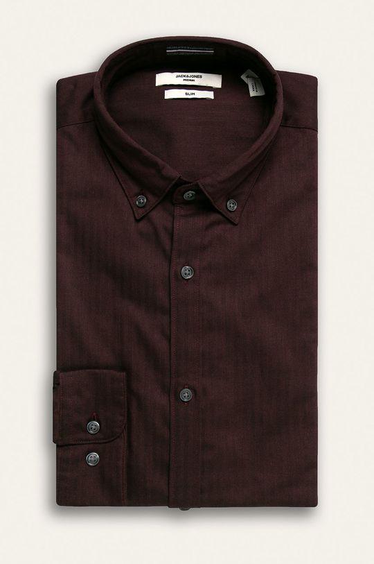 tmavě fialová Premium by Jack&Jones - Košile Pánský