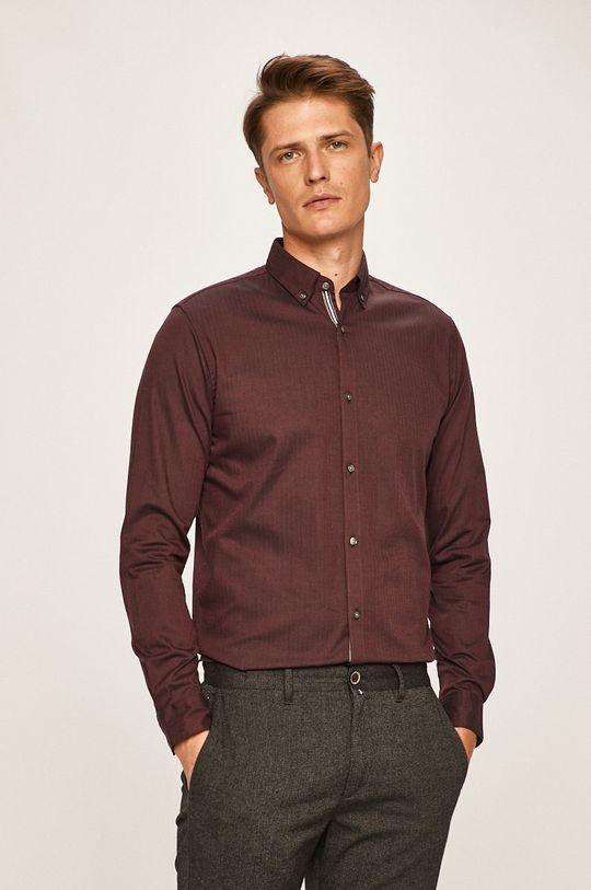 Premium by Jack&Jones - Košile tmavě fialová