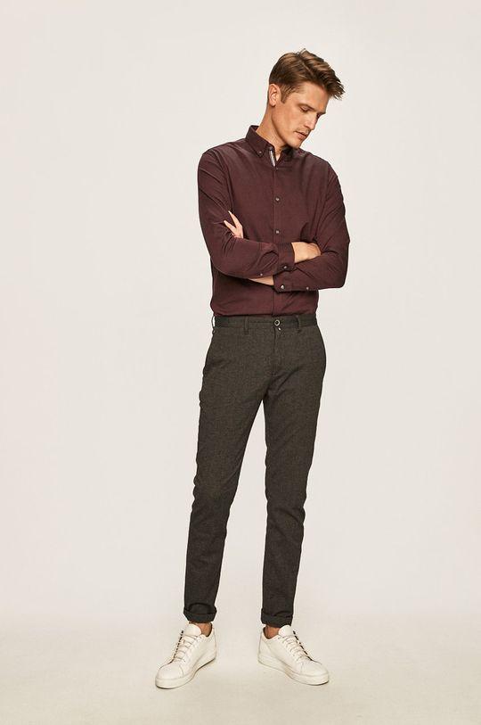 tmavě fialová Premium by Jack&Jones - Košile