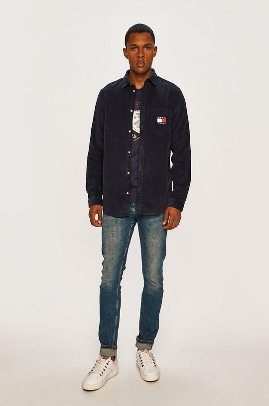 Tommy Jeans - Košeľa  Základná látka: 100% Bavlna