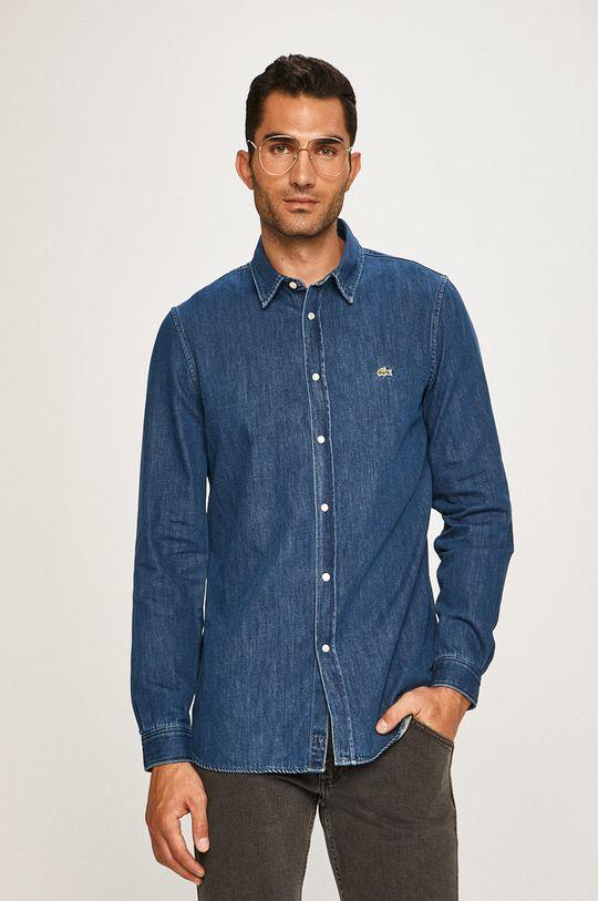 modrá Lacoste - Košeľa Pánsky