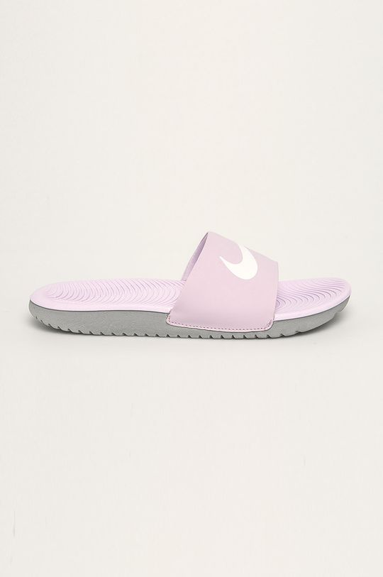 fialová Nike Kids - Pantofle Dětský