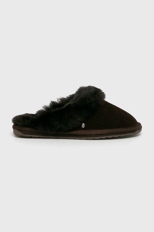 maro inchis Emu Australia - Papuci de casa Jolie De femei