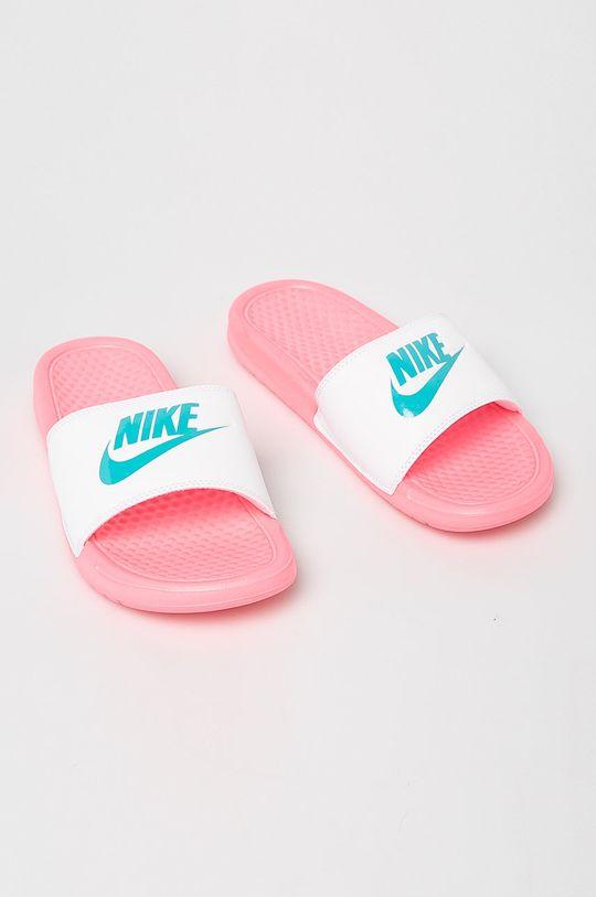 Nike Sportswear - Pantofle ostrá růžová