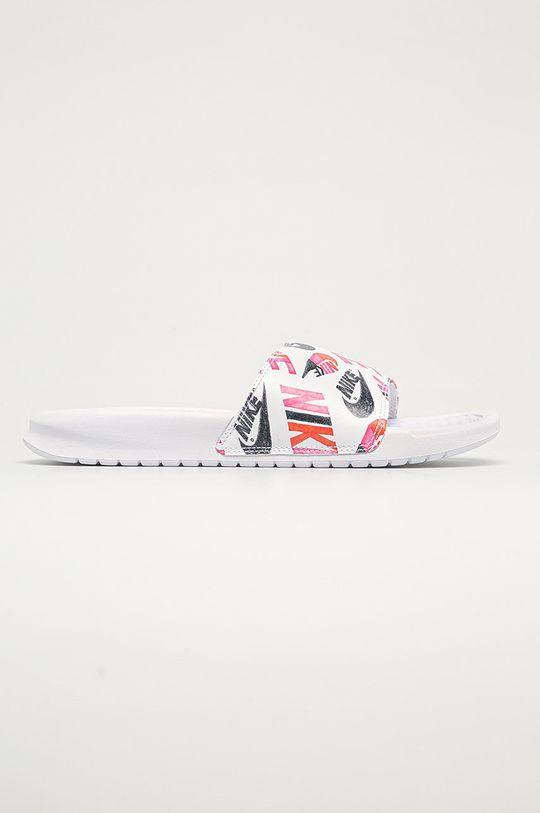 білий Nike Sportswear - Шльопанці Nike Benassi Жіночий