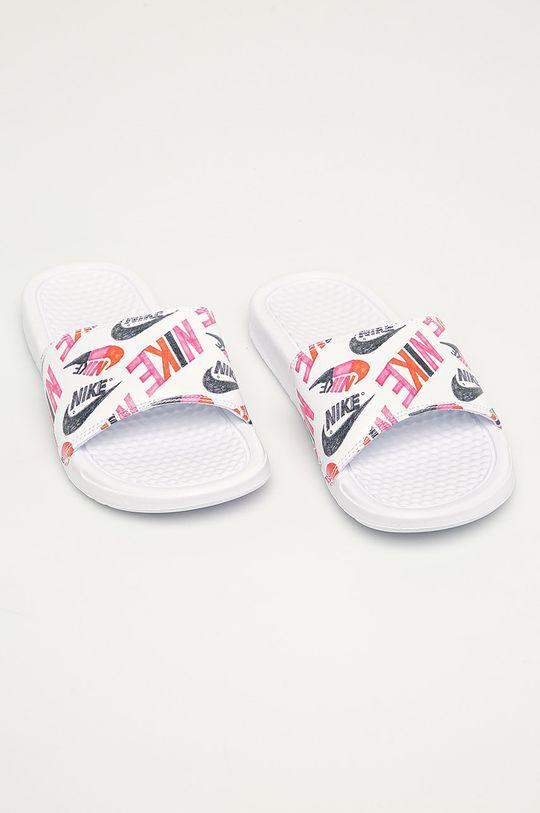Nike Sportswear - Шльопанці Nike Benassi білий