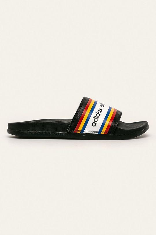 černá adidas - Pantofle Dámský