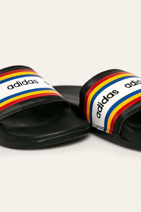 černá adidas - Pantofle