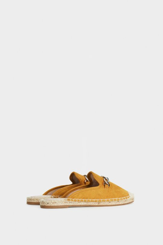 hořčicová Parfois - Pantofle