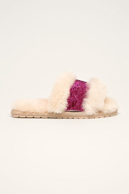 telová Emu Australia - Detské papuče Wrenlette Play Dievčenský