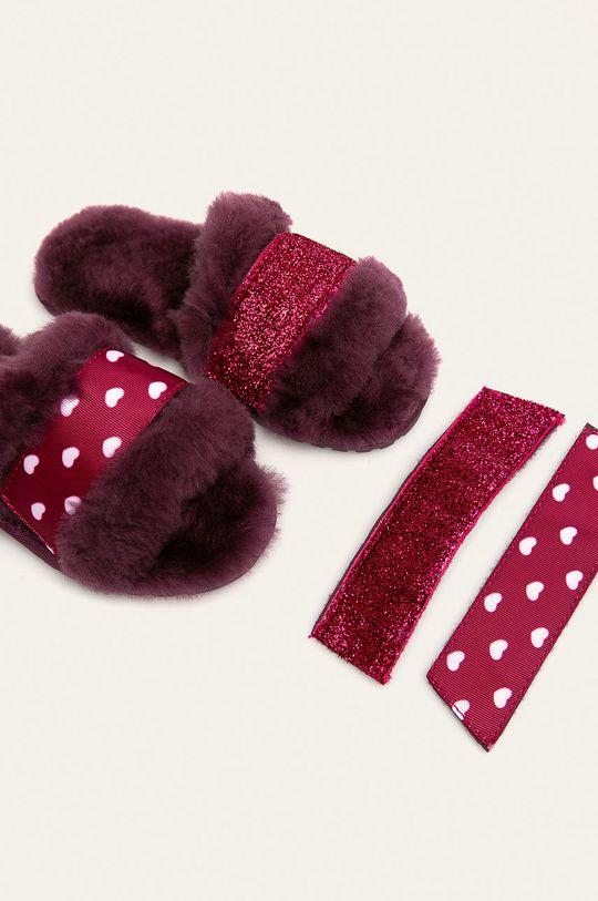 Emu Australia - Detské papuče Wrenlette Play  Zvršok: Textil, Merino vlna Vnútro: Merino vlna Podrážka: Syntetická látka