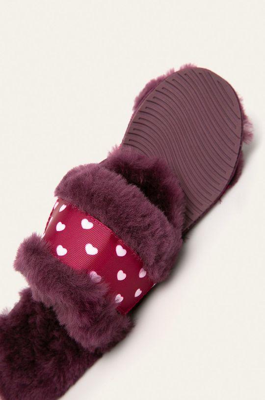 fialová Emu Australia - Detské papuče Wrenlette Play