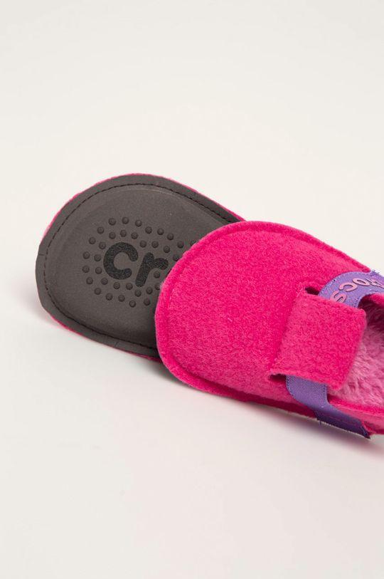 Crocs - Dětské papuče Svršek: Textilní materiál Vnitřek: Textilní materiál Podrážka: Umělá hmota