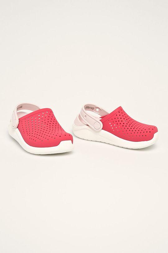 Crocs - Dětské pantofle ostrá červená