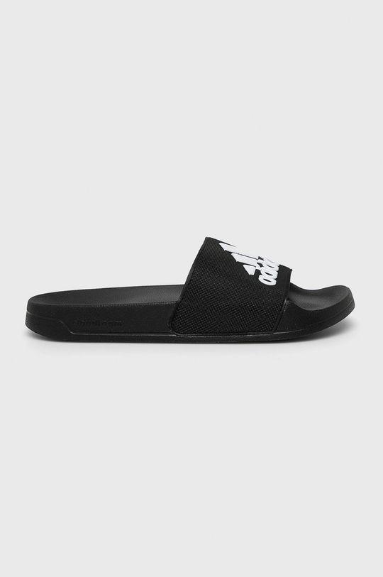 negru adidas - Papuci De bărbați