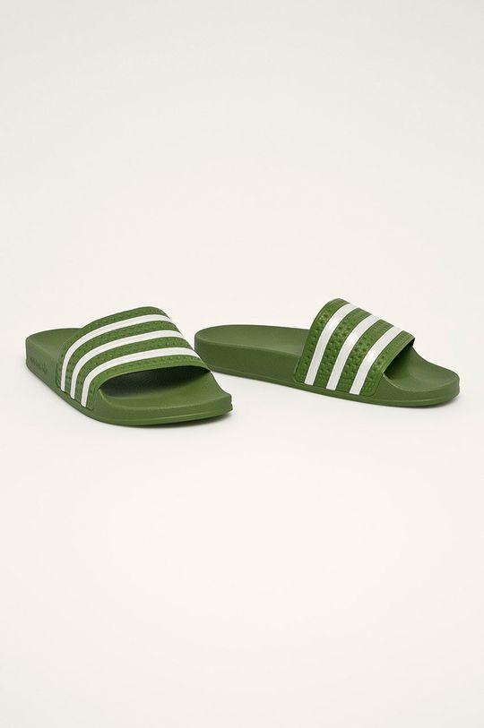 adidas Originals - Pantofle zelená