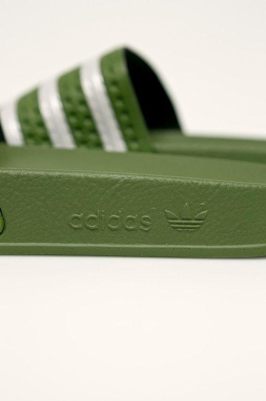 zelená adidas Originals - Pantofle