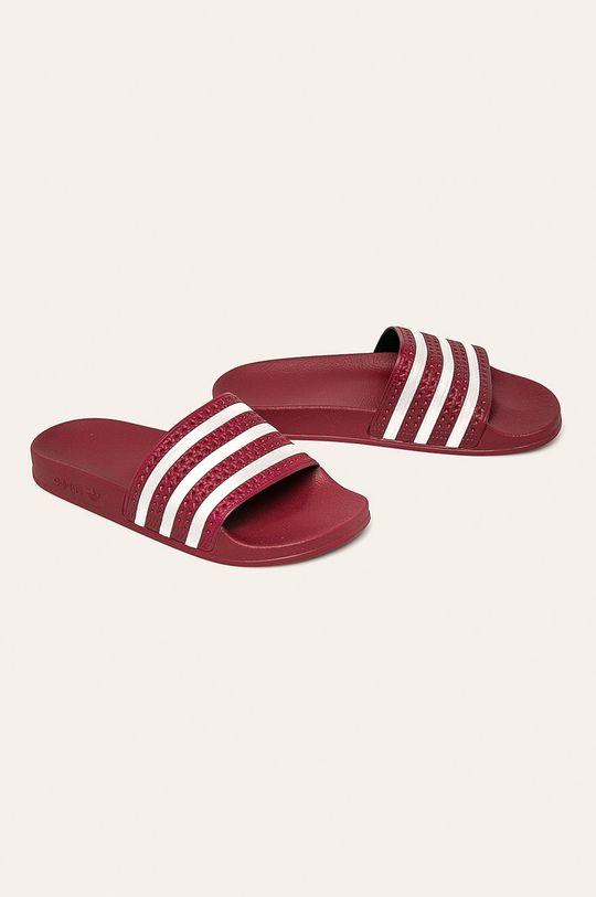 adidas Originals - Pantofle karmínová