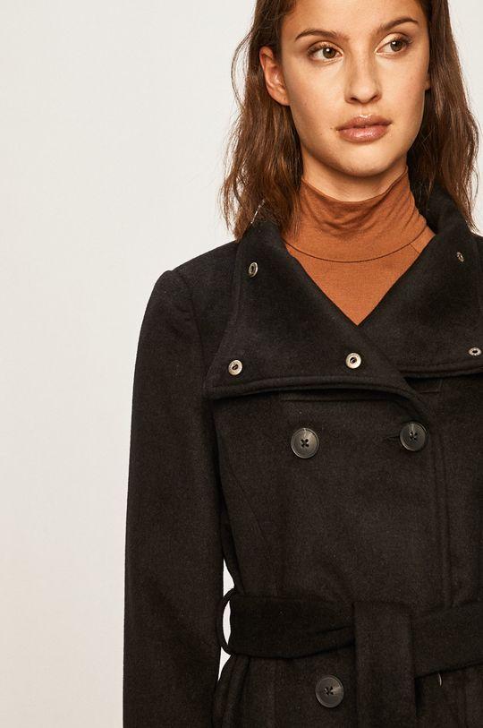 čierna Vero Moda - Kabát