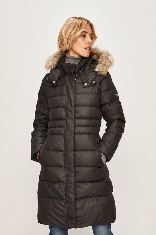 černá Calvin Klein - Péřová bunda Dámský