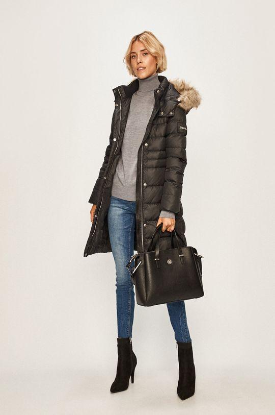 Calvin Klein - Péřová bunda černá
