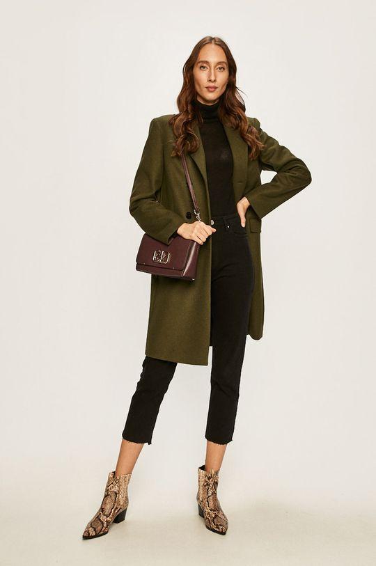 Calvin Klein - Kabát olivová