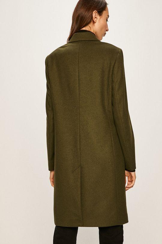 Calvin Klein - Kabát Podšívka: 55% Polyester, 45% Viskóza Hlavní materiál: 15% Kašmír, 85% Virgin vlna Podšívka kapsy: 100% Bavlna