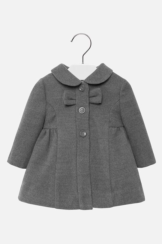 sivá Mayoral - Detský kabát 74-98 cm Dievčenský