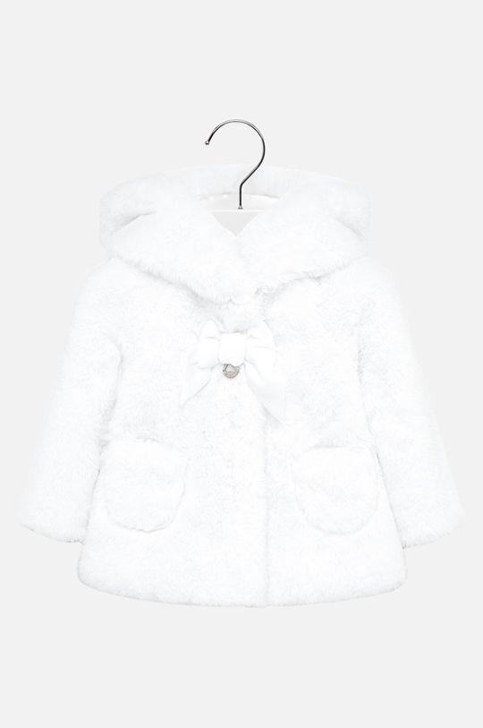 biela Mayoral - Detský kabát 74-98 cm Dievčenský