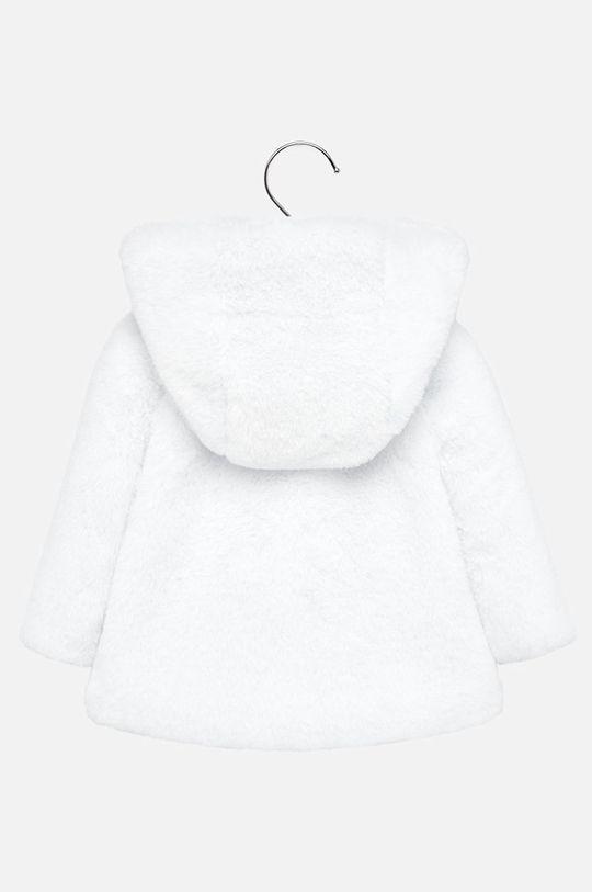 Mayoral - Detský kabát 74-98 cm biela