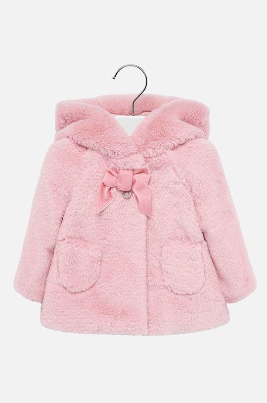 ružová Mayoral - Detský kabát 74-98 cm Dievčenský