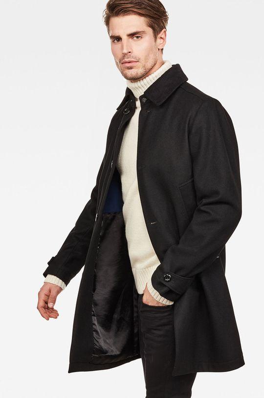G-Star Raw - Płaszcz czarny