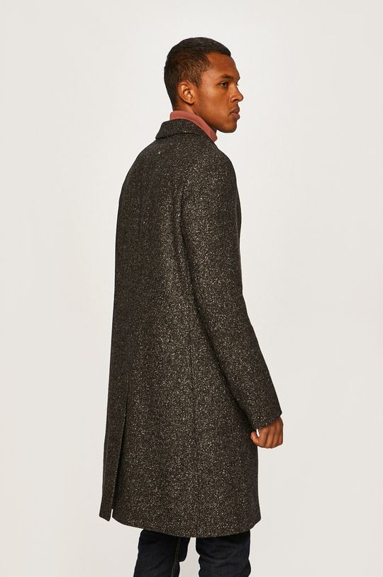 Calvin Klein - Kabát  Podšívka: 55% Polyester, 45% Viskóza Základná látka: 15% Akryl, 6% Bavlna, 5% Hodváb, 5% Polyamid, 25% Polyester, 44% Vlna