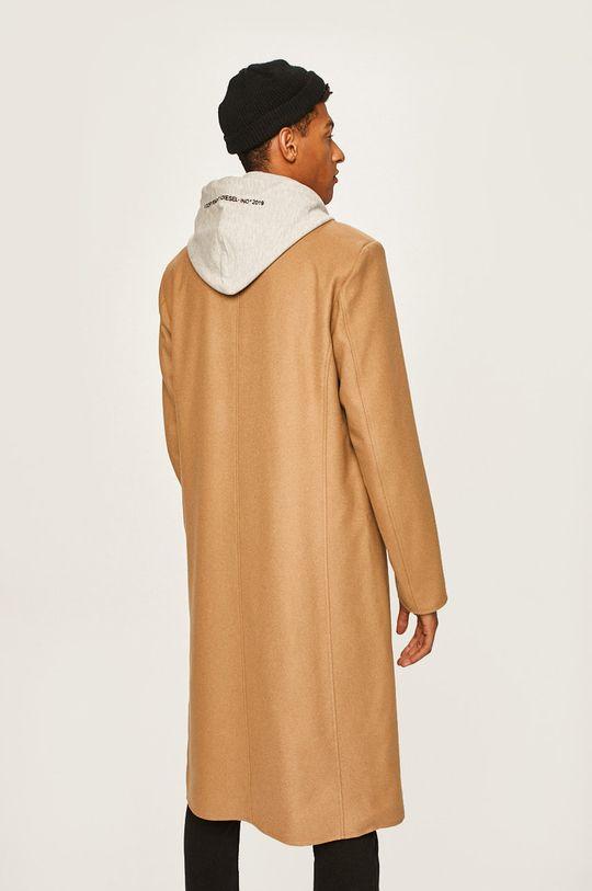 Diesel - Kabát Podšívka: 100% Bavlna Hlavní materiál: 19% Nylon, 3% Polyester, 78% Vlna