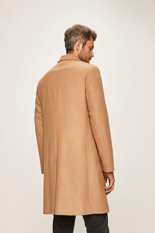 Calvin Klein - Kabát Hlavní materiál: 15% Kašmír, 85% Virgin vlna Podšívka kapsy: 100% Bavlna brak: 55% Polyester, 45% Viskóza brak: 48% Polyester, 52% Viskóza