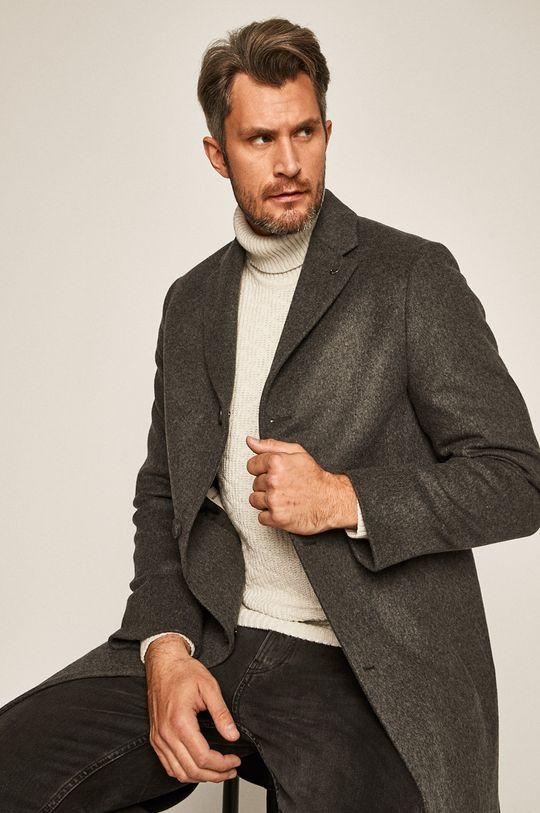 šedá Calvin Klein - Kabát
