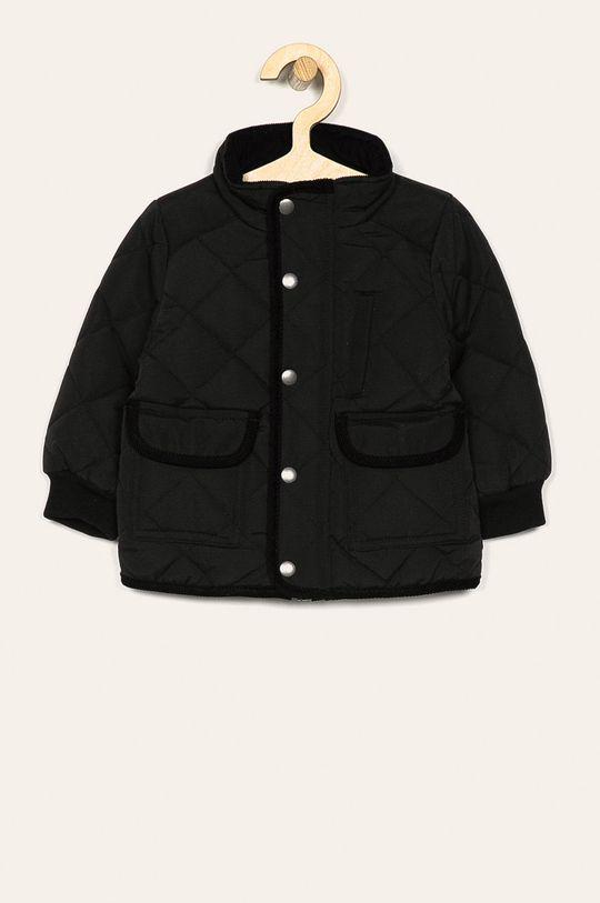 čierna Name it - Detská bunda 80-110 cm Chlapčenský