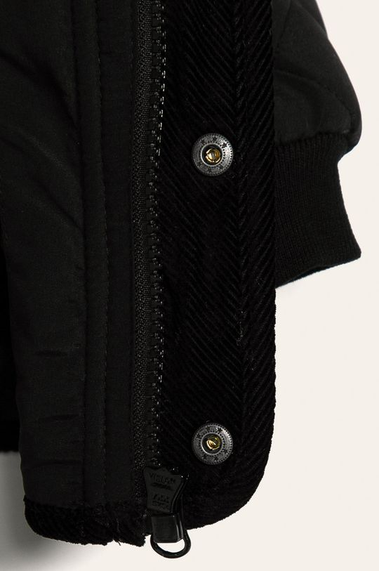 čierna Name it - Detská bunda 80-110 cm