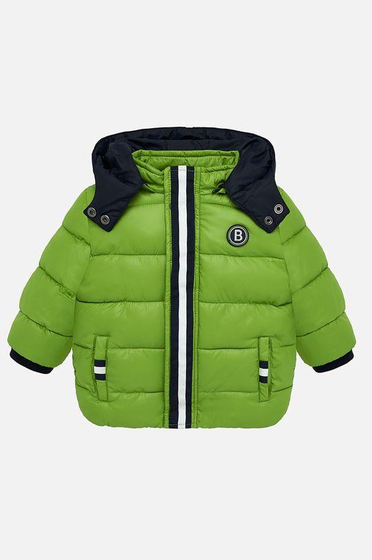 žlto-zelená Mayoral - Detská bunda 74-98 cm Chlapčenský
