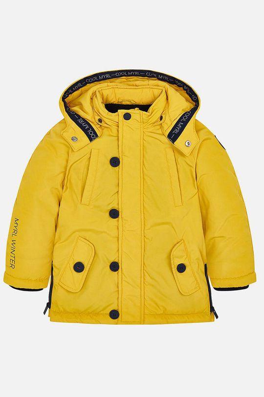žltá Mayoral - Detská bunda 92-134 cm Chlapčenský