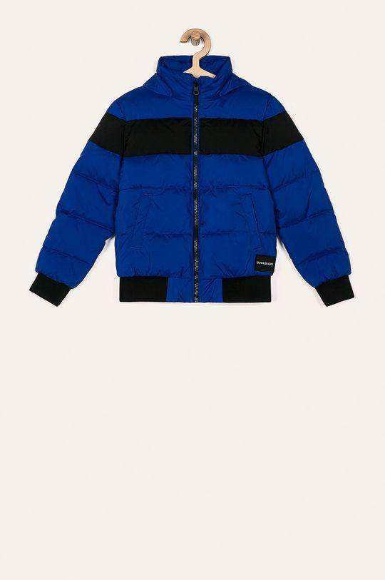albastru Calvin Klein Jeans - Geaca copii De băieți