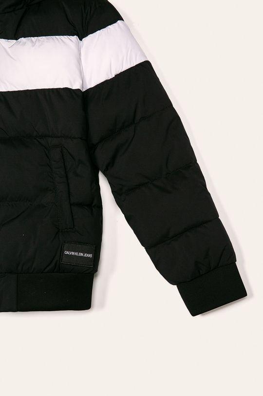 negru Calvin Klein Jeans - Geaca copii