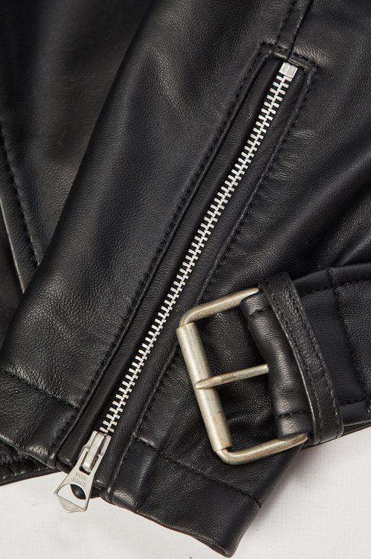 Pepe Jeans - Kožená bunda