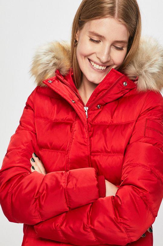 červená Calvin Klein Jeans - Bunda